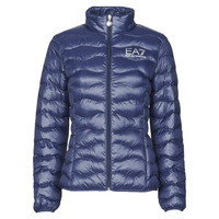 Kleidung Damen Daunenjacken Emporio Armani EA7 TRAIN CORE LADY W LT ECO DOWN JCKT Marine