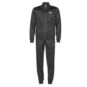 Kleidung Herren Jogginganzüge Emporio Armani EA7 TRAIN CORE ID M T-SUIT TT FZ CH PL Schwarz