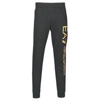 Kleidung Herren Jogginghosen Emporio Armani EA7 TRAIN LOGO SERIES M PANTS Schwarz