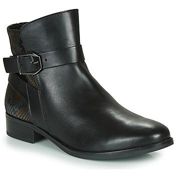 Schuhe Damen Boots Caprice 25331-045 Schwarz