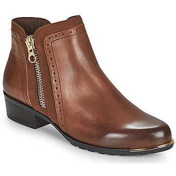 Schuhe Damen Boots Caprice  Cognac