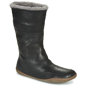 Schuhe Damen Klassische Stiefel Camper PEU CAMI Schwarz