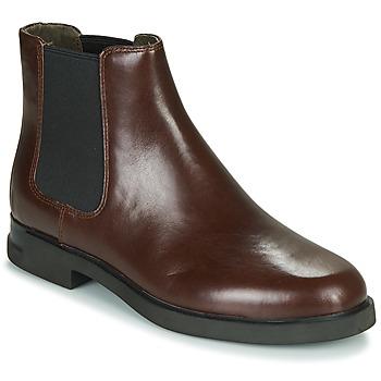 Schuhe Damen Boots Camper IMN0 Braun