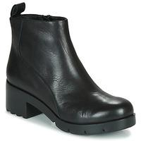 Schuhe Damen Low Boots Camper WND0 Schwarz