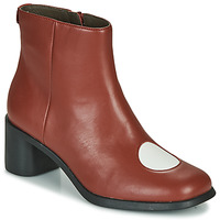 Schuhe Damen Low Boots Camper TWINS Bordeaux