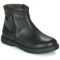 Schuhe Mädchen Boots Camper DTT1 Schwarz