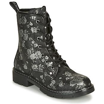 Schuhe Damen Boots Dockers by Gerli 45PN201 Schwarz