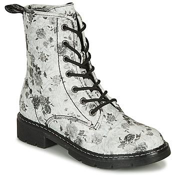 Schuhe Damen Boots Dockers by Gerli 45PN201 Weiss