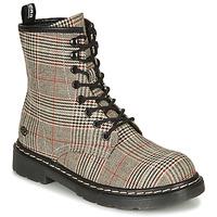 Schuhe Damen Boots Dockers by Gerli 45TS201 Schottenmuster