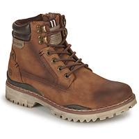 Schuhe Herren Boots Dockers by Gerli 47LY001 Braun