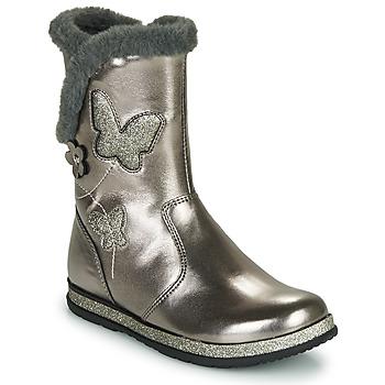Schuhe Mädchen Klassische Stiefel Chicco CAMPANELLA Silbern
