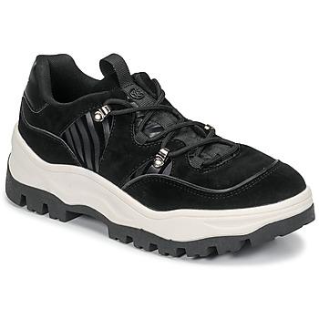 Schuhe Damen Sneaker Low Chattawak TULSA Schwarz
