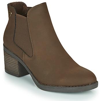 Schuhe Damen Low Boots Chattawak TEXAS Braun
