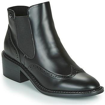 Schuhe Damen Low Boots Chattawak MODESTO Schwarz