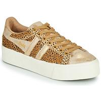Schuhe Damen Sneaker Low Gola ORCHID PLATEFORM SAVANNA Gold