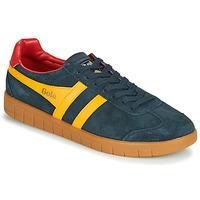 Schuhe Herren Sneaker Low Gola HURRICANE Marine / Gelb