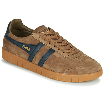 Schuhe Herren Sneaker Low Gola HURRICANE Braun / Marine