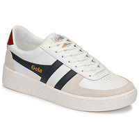 Schuhe Herren Sneaker Low Gola GRANDSLAM CLASSIC Weiss / Marine