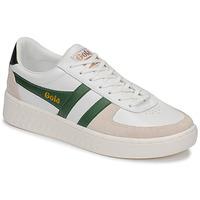 Schuhe Herren Sneaker Low Gola GRANDSLAM CLASSIC Weiss / Grün