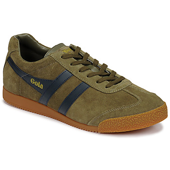 Schuhe Herren Sneaker Low Gola HARRIER Kaki / Marine