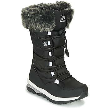 Schuhe Mädchen Schneestiefel KAMIK PRAIRIE Schwarz