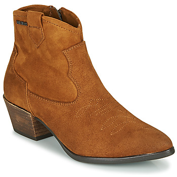 Schuhe Damen Low Boots Tom Tailor 90302-COGNAC Cognac