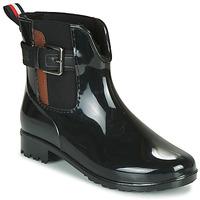 Schuhe Damen Gummistiefel Tom Tailor  Schwarz