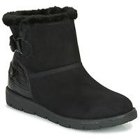 Schuhe Damen Boots Tom Tailor 93105-NOIR Schwarz