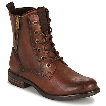 Schuhe Damen Boots Tom Tailor 93303-COGNAC Cognac