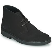Schuhe Herren Boots Clarks DESERT BOOT 2 Schwarz