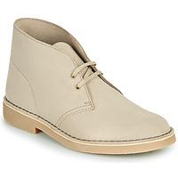 Schuhe Herren Boots Clarks DESERT BOOT 2 Beige
