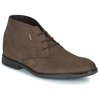 Schuhe Herren Boots Clarks RONNIE LOGTX Braun