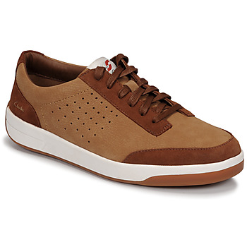 Schuhe Herren Sneaker Low Clarks HERO AIR LACE Camel