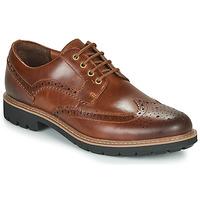 Schuhe Herren Derby-Schuhe Clarks BATCOMBE WING Camel