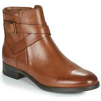 Schuhe Damen Boots Clarks HAMBLE BUCKLE Braun