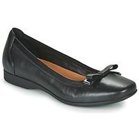 Schuhe Damen Ballerinas Clarks UN DARCEY BOW Schwarz