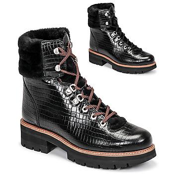 Schuhe Damen Boots Clarks ORIANNA HIKER Schwarz