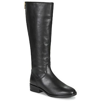 Schuhe Damen Klassische Stiefel Clarks PURE RIDE Schwarz