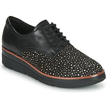 Schuhe Damen Derby-Schuhe Clarks SHAYLIN LACE Schwarz