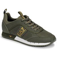 Schuhe Herren Sneaker Low Emporio Armani EA7 XK050 Kaki