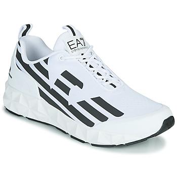 Schuhe Herren Sneaker Low Emporio Armani EA7 XCC52 Weiss / Schwarz