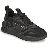 Schuhe Herren Sneaker Low Emporio Armani EA7 XK165 Schwarz