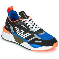 Schuhe Herren Sneaker Low Emporio Armani EA7 XK165 Schwarz / Blau / Orange