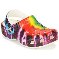 Schuhe Kinder Pantoletten / Clogs Crocs CLASSIC TIE DYE GRAPHIC CLOG K Multicolor