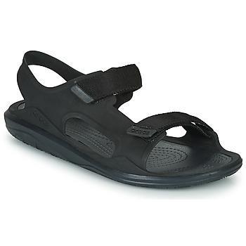 Schuhe Herren Sandalen / Sandaletten Crocs SWIFTWATER EXPEDITION SANDAL M Schwarz