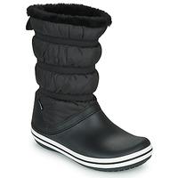 Schuhe Damen Schneestiefel Crocs CROCBAND BOOT W Schwarz