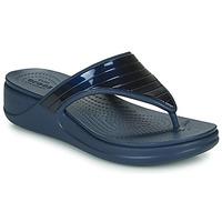 Schuhe Damen Zehensandalen Crocs CROCSMONTEREYMETALLICSTPWGFPW Marine