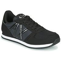 Schuhe Damen Sneaker Low Armani Exchange XCC62-XDX031 Schwarz
