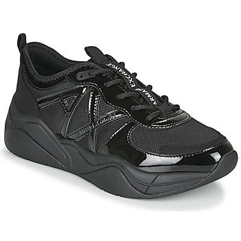 Schuhe Damen Sneaker Low Armani Exchange XV311-XDX039 Schwarz
