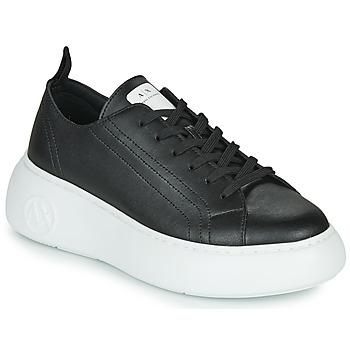 Schuhe Damen Sneaker Low Armani Exchange XCC64-XDX043 Schwarz